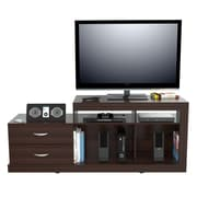 Inval America 27.68 x 68.9 Wood TV stand