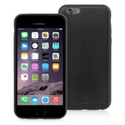 Snugg iPhone 6 Leather Ultra Thin Case in Black