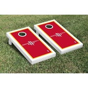 Victory Tailgate NBA Border Version Cornhole 10 Piece Game Set; Houston Rockets