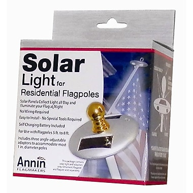 Annin Flagmakers Solar Flagpole Light