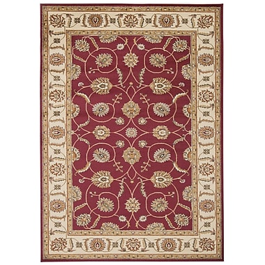 Nourison Paramount Red Rug; 3'11'' x 5'10''