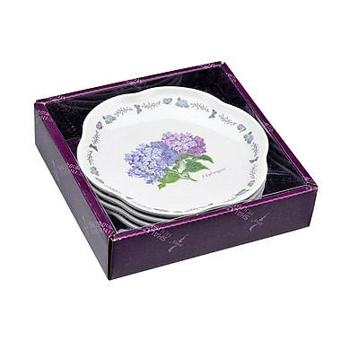 Shall Housewares 5 Piece Melamine Flower Case Set