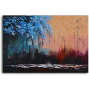 Omax Decor 'Transposing Seasons' Oil Painting on Canvas