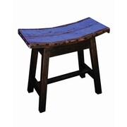 Groovystuff Moonshine Coda Saddle Seat Stool; Cobalt