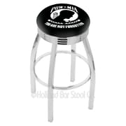Holland Bar Stool US Armed Forces 30'' Swivel Bar Stool with Cushion; POW/MIA