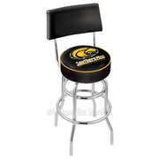 Holland Bar Stool NCAA 30'' Swivel Bar Stool with Cushion; University of Southern Mississippi