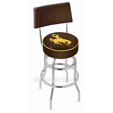 Holland Bar Stool NCAA 25'' Swivel Bar Stool; University of Wyoming