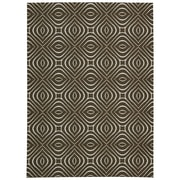 Nourison Enhance Chocolate Area Rug; 5' x 7'