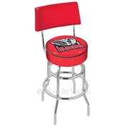 Holland Bar Stool NCAA 25'' Swivel Bar Stool with Cushion; University of Alabama (Elephant) Logo