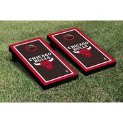 Victory Tailgate NBA Border Version Cornhole 10 Piece Game Set; Chicago Chi Bulls