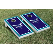 Victory Tailgate NBA Border Version Cornhole 10 Piece Game Set; Charlotte Hornets