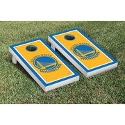 Victory Tailgate NBA Border Version Cornhole 10 Piece Game Set; Golden State Warriors