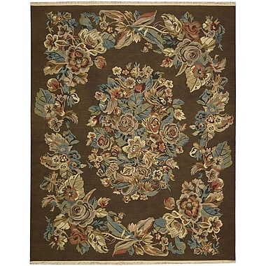 Nourison Nourmak Encore Chocolate Area Rug; 5'6'' x 7'5''