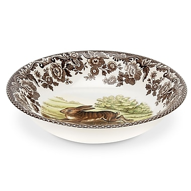 Spode Woodland 6.5'' Rabbit Cereal Bowl