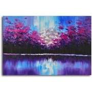Omax Decor 'Flock in the Forest' Oil Painting on Canvas