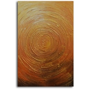 Omax Decor Hand Painted ''Descent into Gladness'' Oil Painting on Canvas