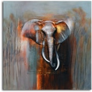 Omax Decor 'Ivory in Limbo' Painting on Canvas