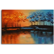 Omax Decor ''Into the New'' Oil Painting on Canvas