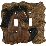 River's Edge Products Horse Switch Plate Cover