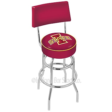 Holland Bar Stool NCAA 25'' Swivel Bar Stool; Iowa State University