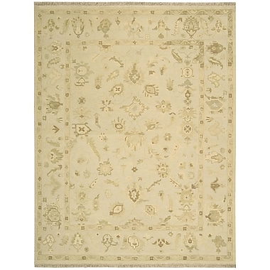 Nourison Nourmak Encore Wheat Area Rug; 8'6'' x 11'6''