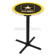 Holland Bar Stool Military 42'' Pub Table; United States Army
