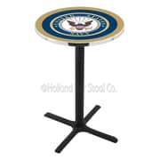 Holland Bar Stool Military 42'' Pub Table; United States Navy