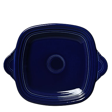 Fiesta Square Serving Tray; Cobalt Blue