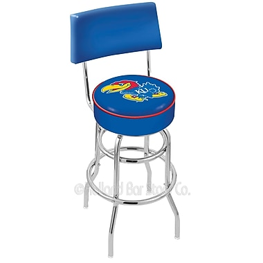 Holland Bar Stool NCAA 25'' Swivel Bar Stool; University of Kansas