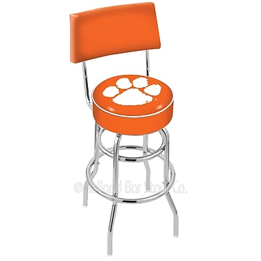 Holland Bar Stool NCAA 25'' Swivel Bar Stool; Clemson