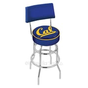 Holland Bar Stool NCAA 30'' Swivel Bar Stool with Cushion; University of California