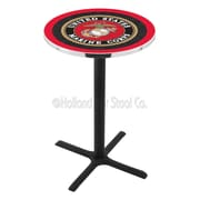 Holland Bar Stool Military 42'' Pub Table; United States Marine Corps