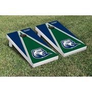 Victory Tailgate NCAA Triangle Version Cornhole Game Set; Drew Rangers