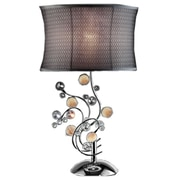 ORE Furniture Enigma 30'' H Table Lamp with Oval Shade