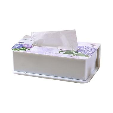 Shall Housewares Hydrangea Melamine Tissue Box Cover