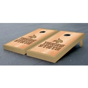 Victory Tailgate NCAA Hardcourt Version Cornhole Game Set; Texas State University Bobcats