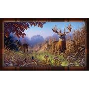 River's Edge Products Deer Scene Doormat