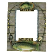 River's Edge Products My Fish, My Dads Fish Picture Frame