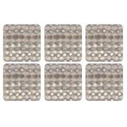 Pimpernel Pure Coaster (Set of 6)