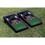 Victory Tailgate MLS Team Soccer Field Version 1 Cornhole Game Set; Real Salt Lake Royals