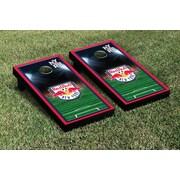 Victory Tailgate MLS Team Soccer Field Version 1 Cornhole Game Set; New York Red Bulls