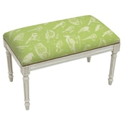 123 Creations Nature Upholstered and Wood Bench