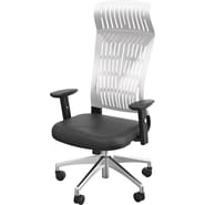 Balt Fly High Back Office Chair with Arms; White
