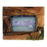 River's Edge Products 4'' x 6'' Deer Firewood Frame