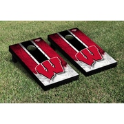 Victory Tailgate NCAA Vintage Version Cornhole Game Set; Wisconsin Badgers
