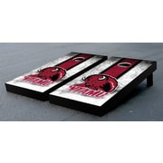 Victory Tailgate NCAA Vintage Wooden Cornhole Game Set; West Texas A&M University Buffs