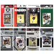 C & I Collectibles 8 Different Licensed Trading Card Team Set; Oakland Raiders