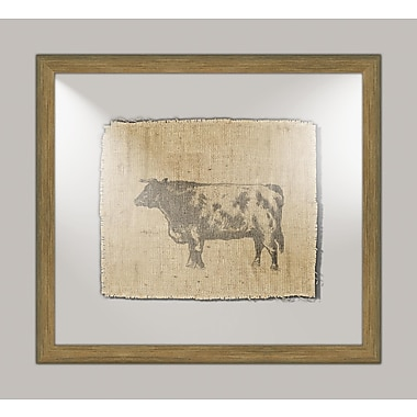 Melissa Van Hise Cow II Framed Graphic Art
