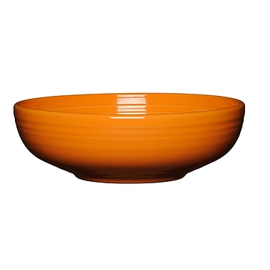 Fiesta 68 Oz. Serving Bowl; Tangerine