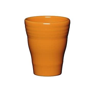 Fiesta 12 Oz. Bath Tumbler; Tangerine